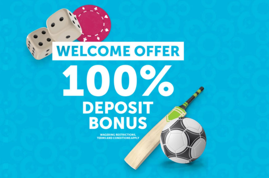 ComeOn Cricket welcome bonus for betting.