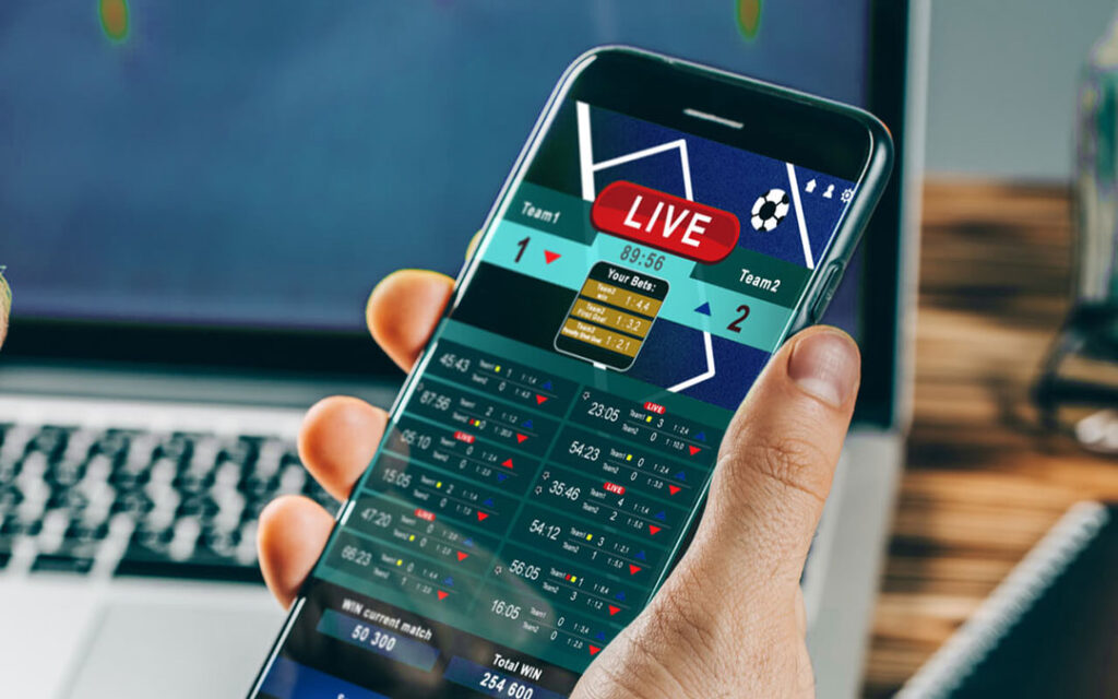 How live betting works?